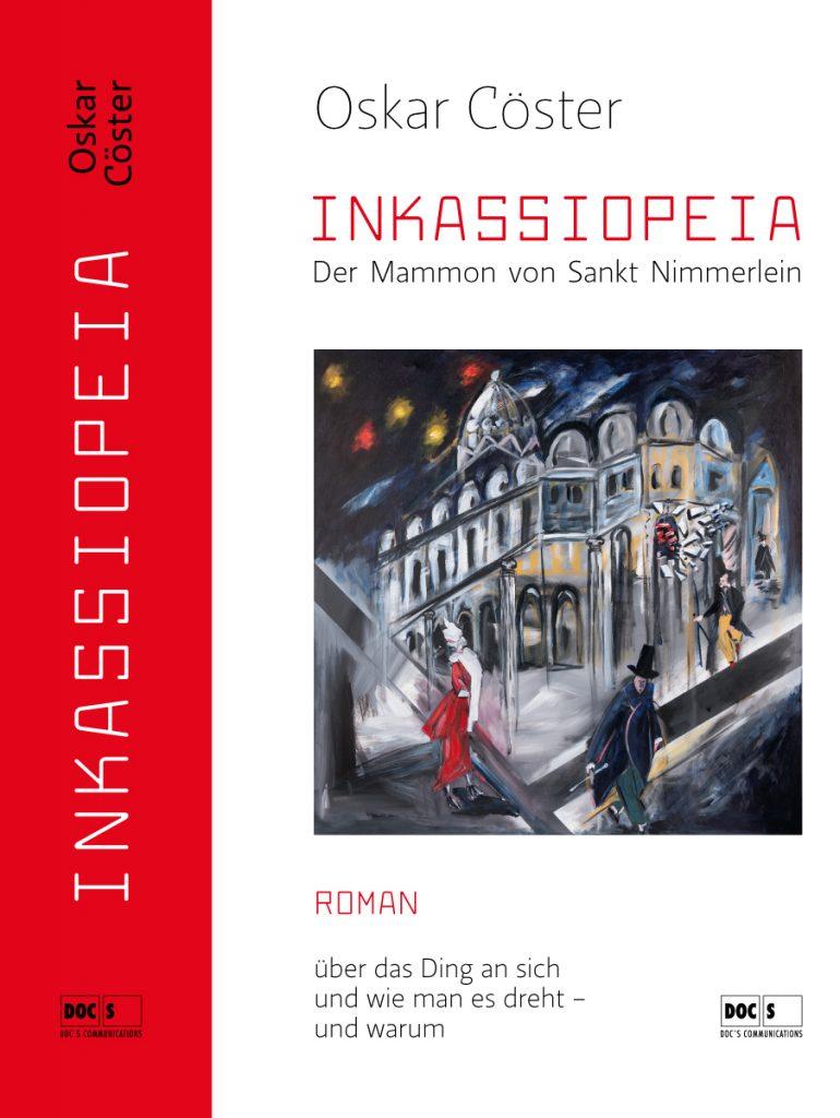Buchcover Inkassiopeia von Oskar Cöster