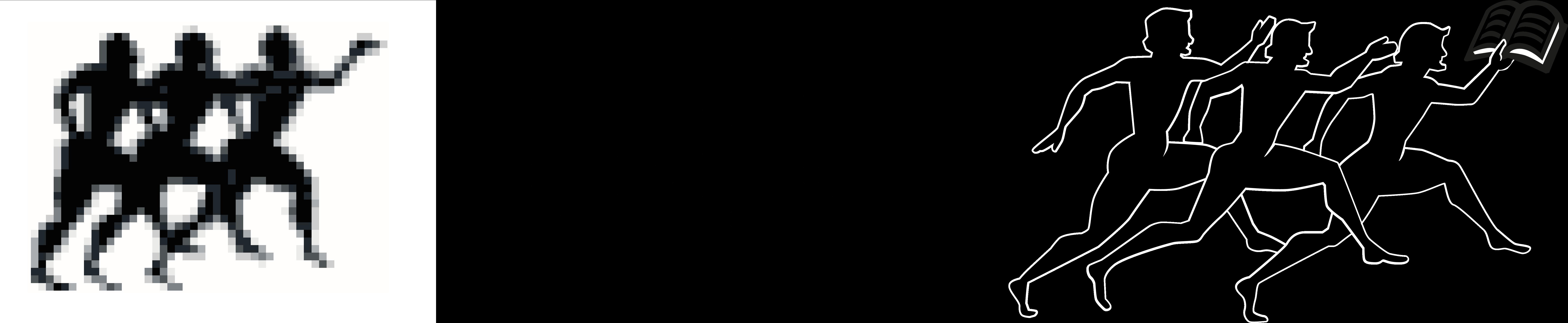 Doc's Com Verlag - Abbildung Transformation Läufergruppe mit angepassten Pfeil